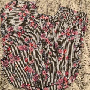 A floral shirt!